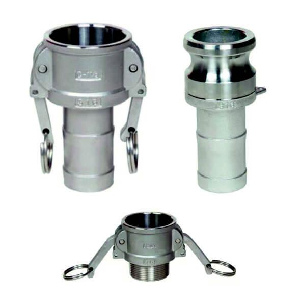 Camlock konektory - nerezová ocel