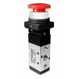 Ruční ventil 5/2 MV522EB 1/4 palcový pohon
