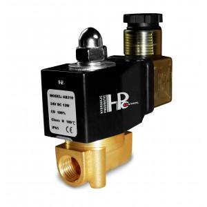Solenoidní ventil 2N08 1/4 230V nebo 24V, 12V Viton - odolný vůči chemikáliím