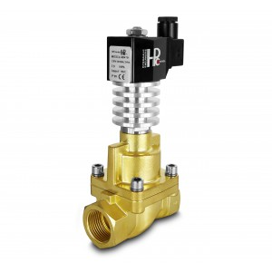 Elektromagnetický ventil na páru a vysokou teplotu. RHT25 DN25 300C 1 palce