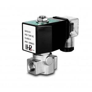 Vysokotlaký solenoidový ventil HP15-M z nerezové oceli SS304 110 bar