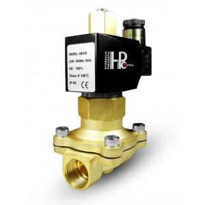 Solenoidní ventil otevřený 2N25 NO 1 palce 230V nebo 12V, 24V, 42V