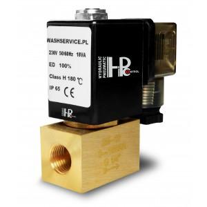 Solenoidový ventil 2M08 1/4 palce 0-16bar 230V 24V 12V