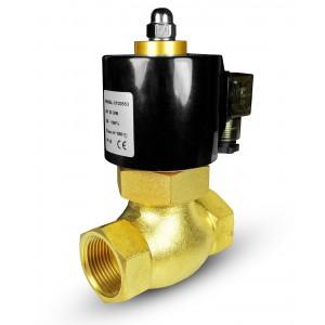 Solenoidní ventil pro páru a vysokou teplotu. 2L20 3/4 palce180 ° C