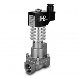Elektromagnetický ventil na páru a vysokou teplotu. RHT15-SS DN15 300C 1/2 palce