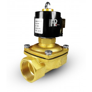 Elektromagnetický ventil otevřen 2N50 NO DN50 2 palce 230V 24V 12V