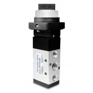 Ruční ventil 5/2 MV522TB 1/4 palcový pohon