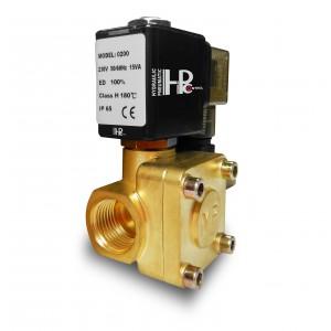 Solenoidový ventil 2K15 1/2 palce 230V nebo 12V 24V