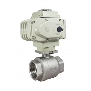 Kulový ventil z nerezové oceli 1 1/2 palce DN40 s elektrickým pohonem A500