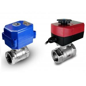 Kulový ventil 3/4 palce s elektrickým pohonem A80 nebo A82