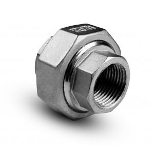 Flare nerezová ocel vnitřní závit 1 palce