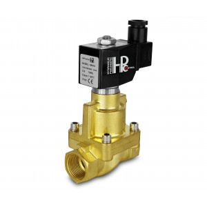 Elektromagnetický ventil na páru a vysokou teplotu. otevřít RH25-NO DN25 200C 1 palec