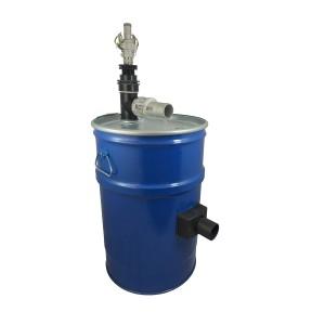 Nádrž vysavače 60 l s čištěním filtru stlačeného vzduchu