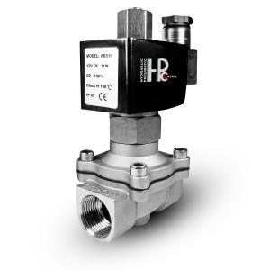 Solenoidový ventil otevřený 2N15 ne 1/2 palce nerezová ocel SS304 230V nebo 12V, 24V, 48V