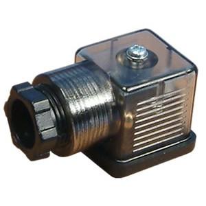 Připojte k solenoidovému ventilu 18 mm DIN 43650 s LED