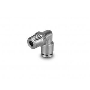 Uzavírací šoupátko z ušlechtilé oceli se závitem 8 mm se závitem 1/4 palce PLSW08-G02