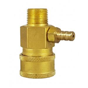 Vysokotlaký rychlospojkový konektor 3/8 palce se vstřikovacím chemickým přísavem