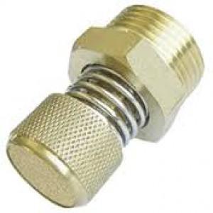 Tlumič výfuku vzduchu s regulátorem průtoku BESLD 1/2 palce