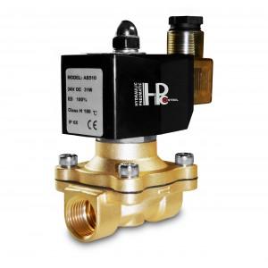 Solenoidový ventil 2N20 3/4 palce FPM Viton + 150C