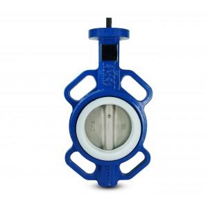 Uzavírací klapka DN 0 PTFE-nerez ocel