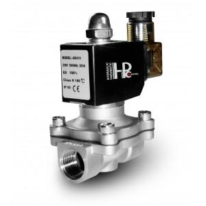 Solenoidový ventil 2N15 1/2 palce z nerezové oceli SS304 Viton