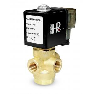 3-cestný elektromagnetický ventil 3V 3x1 / 4 palce 230V 24V 12V