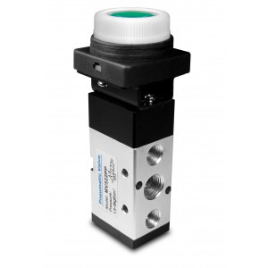 Ruční ventil 5/2 MV522PP 1/4 palcový pohon