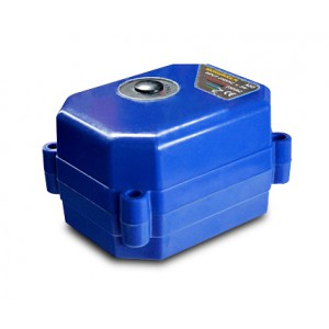 Elektrický pohon kulového kohoutu 9-24V DC A80 7vodičový