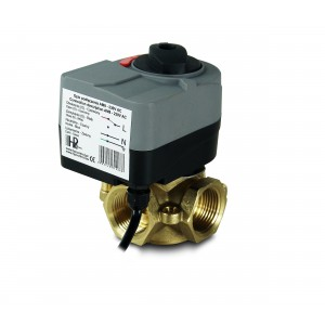 Směšovací ventil 3-cestný 1 1/4 palce s elektrickým pohonem AM8