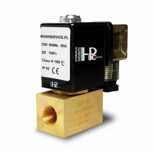 Solenoidový ventil 2M10 3/8 palce 0-16bar 230V 24V 12V