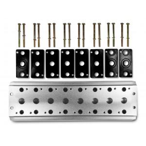 Deska kolektoru pro připojení 8 ventilů Řada 1/4 řady 4V2 4A ventilový terminál skupiny 5/2 5/3