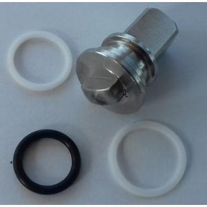 Sada pro opravu vysokotlakého 3-cestného ventilu 3/8 a 1/2 cala ss304 HB3