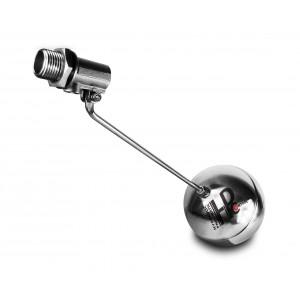 Plovoucí ventil, plnící ventil z nerezové oceli DN20 3/4 palce