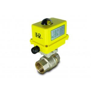 Kulový ventil 1 1/2 palce DN40 s elektrickým pohonem A250