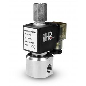 3-cestný solenoidový ventil RM23-02 3 x 1/4 palce