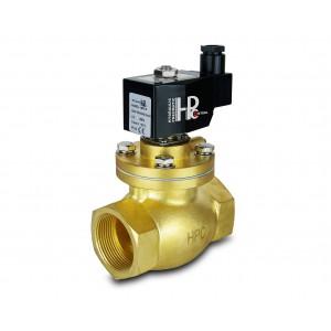 Elektromagnetický ventil na páru a vysokou teplotu. otevřít LH50-NO DN50 200C 2 palce