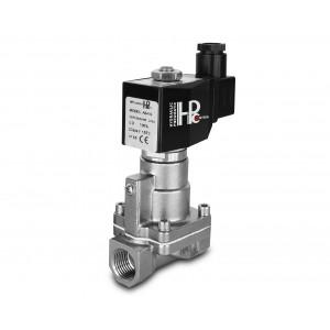 """Elektromagnetický ventil na páru a vysokou teplotu. RH15-SS DN15 200C 1/2 """"nerezová ocel SS304"""