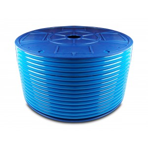 Polyuretanová pneumatická hadice PU 6/4 mm 200m modrá