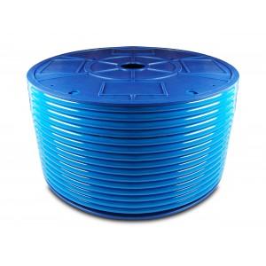 Polyuretanová pneumatická hadice PU 6/4 mm 1m modrá