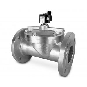 Přírubový solenoidový ventil DF65-NO DN65