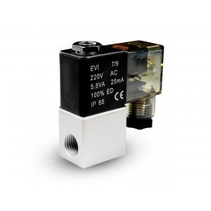Solenoidní ventil do vzduchu a ko2 2V08 1/4 230V 24V 12V