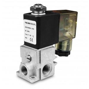 Solenoidní ventil R23 1/8 2 nebo 3-cestné kombinované do skupin