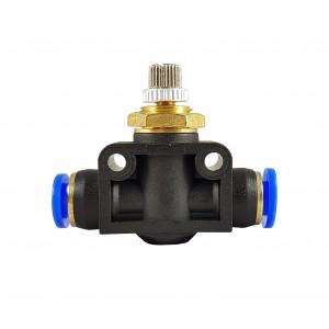 Přesný hadicový ventil škrticí klapky 4mm LSA04