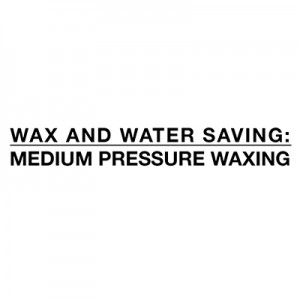 Úspora vody a vosk středního tlaku