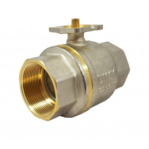 Kulový ventil 2 palce DN50 PN25 montážní deska ISO5211