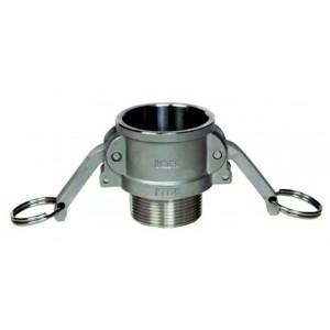 Konektor camlock - typ B 1/2 palce DN15 SS316